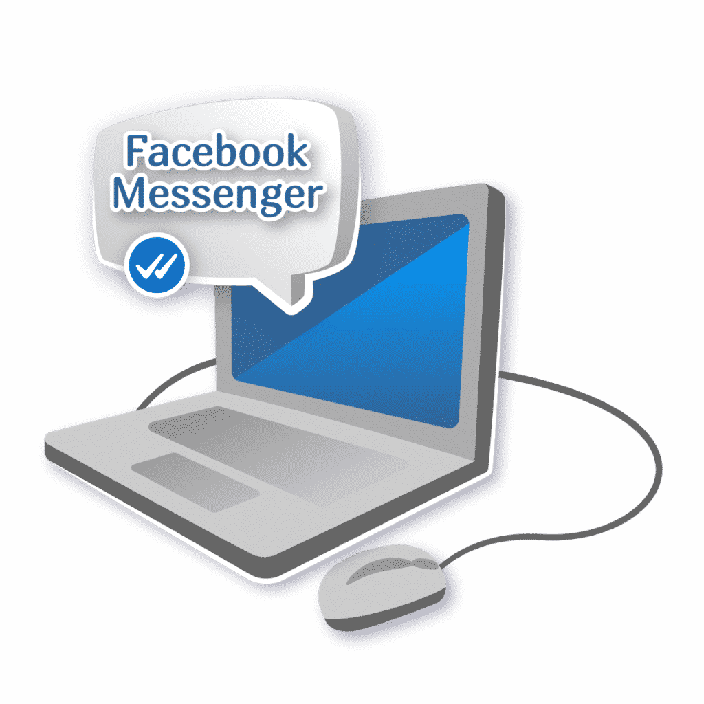 """Иллюстрация статьи """"Плюсы и минусы Facebook Messenger"""""""