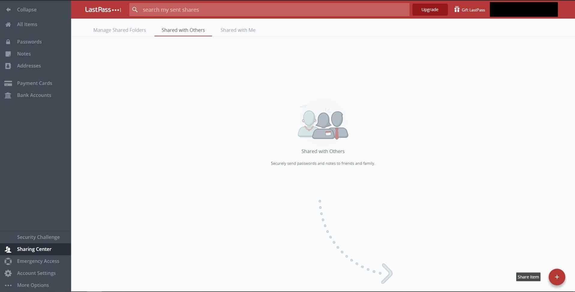 Плюсы и минусы LastPass: предоставление доступа