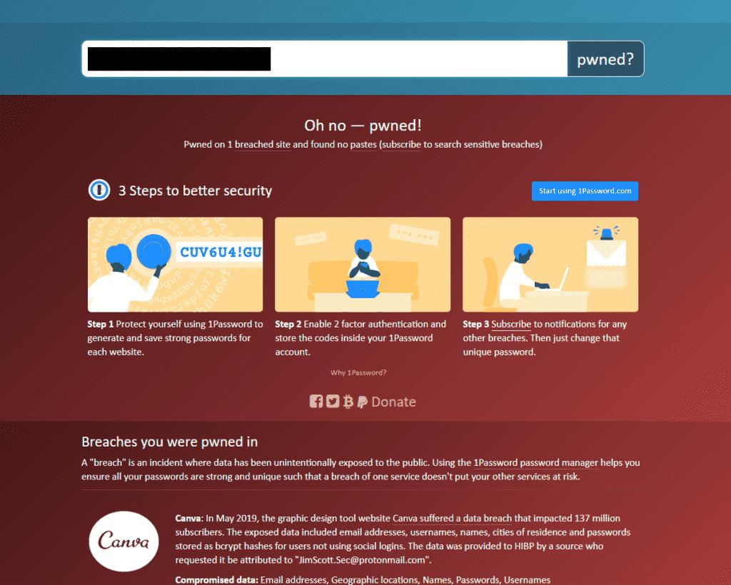 Безопасная почта: произошла утечка данных