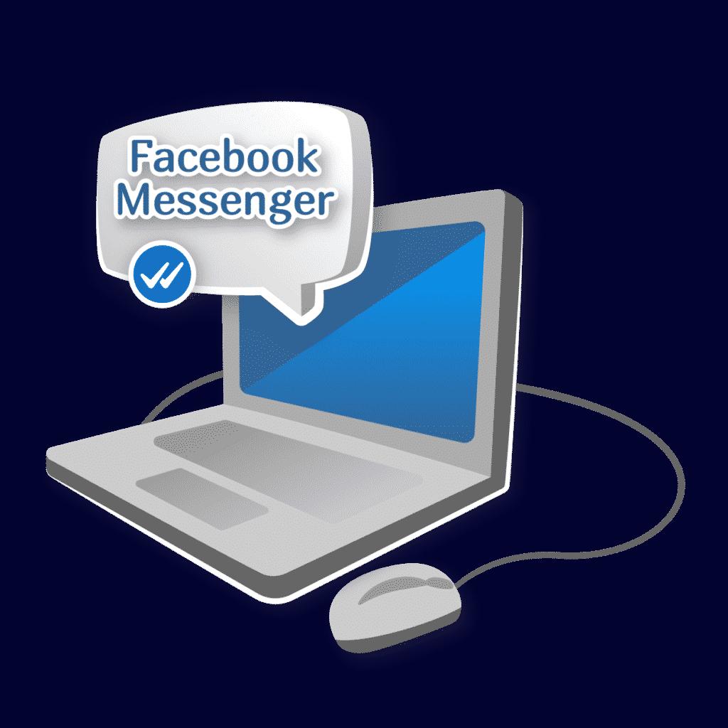 """Иллюстрация статьи """"Демонстрация экрана в Facebook Messenger стала доступна пользователям"""""""