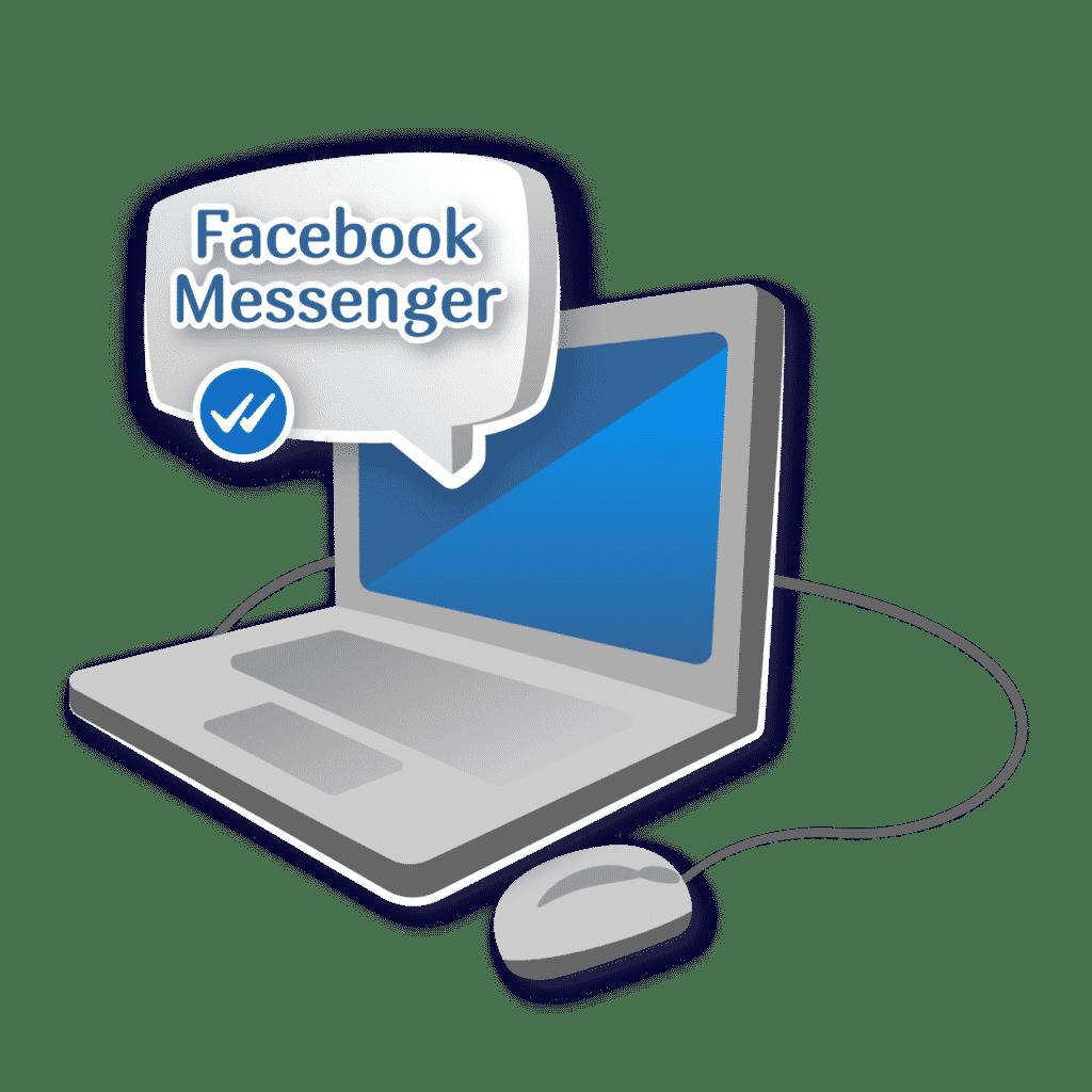 """Иллюстрация статьи """"Facebook Messenger сливают с Instagram"""""""
